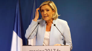 Former British Prime Minister David Cameron said a win for Fron National leader Marine Le Pen would be a body blow for Europe.