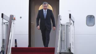 Le président de l'Ouzbékistan, Shavkat Mirzioïev, en visite en France, les 7 et 8 octobre 2018. (Photo d'illustration)