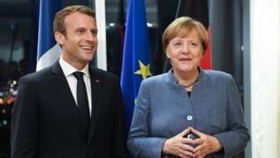 Emmanuel Macron et Angela Merkel doivent s'exprimer ce mercredi à la Cop23 (photo d'illustration).