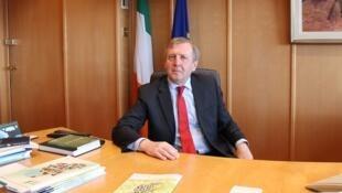 Arrivé au ministère de l'Agriculture il y a deux ans, Michael Creed s'est immédiatement trouvé confronté au Brexit.