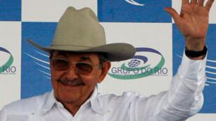 Кубинский президент рауль Кастро