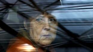 La chancelière allemande Angela Merkel à Bruxelles, le 7 mars 2016, pour un sommet sur les migrants.