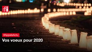 Vos vœux pour l'année 2020.