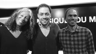 Marijosé Alie, Antonio Zambujo et Mike Ibrahim à RFI.
