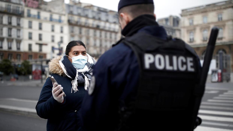 法國因應新冠疫情延長居家限行措施至4月15日