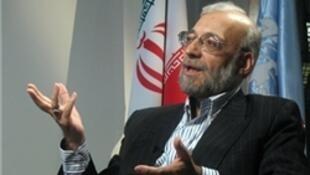 محمدجواد لاریجانی، رئیس پیشین ستاد حقوق بشر قوۀ قضائیۀ جمهوری اسلامی ایران