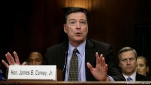 Бывший глава ФБР Джеймс Коми дал показания на слушаниях в Сенате США