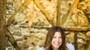 A escritora luso-brasileira Andréa Zamorano.