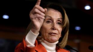 Nancy Pelosi, Speaker in the House of Representatives, Washington, DC November 2018.