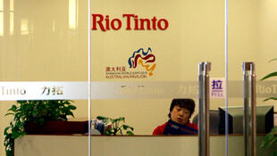 Rio Tinto's office in Beijing.