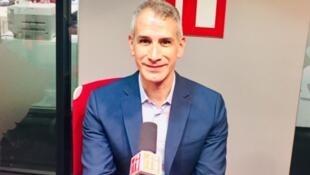 Ruben Gallo, universitaire mexicain, spécialiste de Proust, en studio à RFI, en novembre 2019.