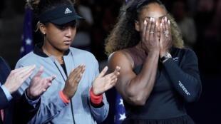 Serena Williams e Noami Osaka vencedora do US Open 2018