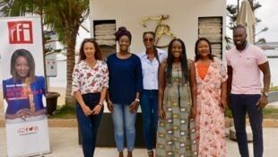Les invités de Diara Ndiaye pour une émission spéciale enregistrée au Sénégal.