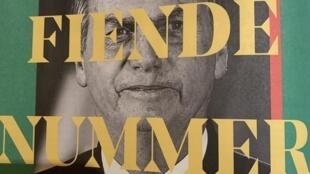 """Capa da programação brasileira do festival de Gotemburgo traz uma foto de Bolsonaro com a frase: """"Inimigo Número Um do Cinema""""."""