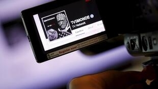 TV5Monde's hacked Facebook page