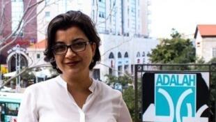 Me Sawsan Zaher travaille pour l'association Adalah qui défend la minorité arabe en Israël.