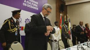 O presidente da República de Cabo Verde, Jorge Carlos Fonseca, aguarda pela chegada dos seus homólogos