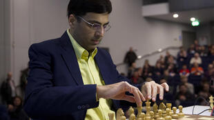 Indian chess player Vishy Anand