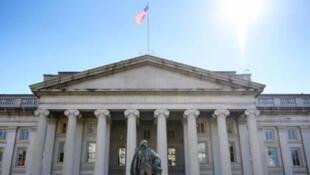 وزارت خزانهداری آمریکا در واشنگتن