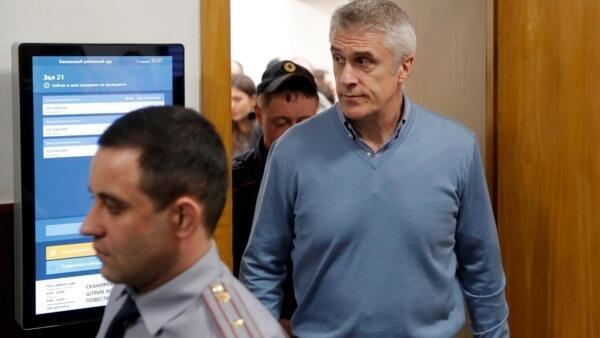 Майкл Калви и другие сотрудники инвестиционного фонда Baring Vostok были арестованы в феврале 2019 года