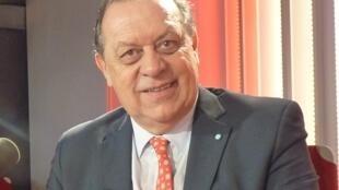 José Gustavo Santos, Secretario de Gobierno de Turismo de Argentina en los estudios de RFI