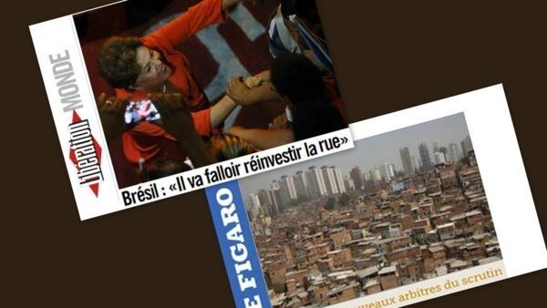 Reta final da campanha eleitoral no Brasil, é destaque nos jornais Libération e Le Figaro desta quarta-feira 01 de outubro de 2014.