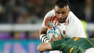 England's Billy Vunipola in action at the 2019 World Cup in Japan