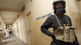 Palais de justice à Ndjamena, au Tchad.