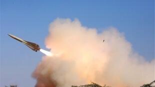 یک موشک مرصاد یک پهپاد ناشناس در ماهشهر را  مورد هدف قرارداده و سرنگون کرد