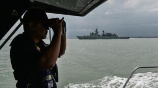 Malaysia tăng cường an ninh trên biển. Ảnh minh họa.