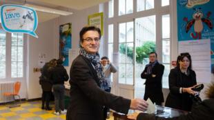 Philippe Lottiaux, candidat Front National dans le Vaucluse, un département convoité par le parti d'extrême-droite.