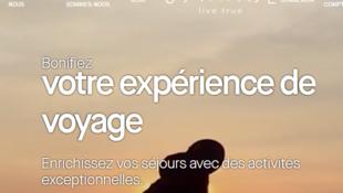 Capture d'écran du site web U2GUIDE.