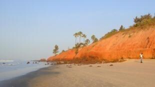 La bande littorale gambienne n'est pas assez protégée par la montée des eaux.