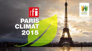 The Paris climate change conference's logo