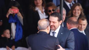 Michel Aoun et Saad Hariri, o reencontro após duas semanas de tensões