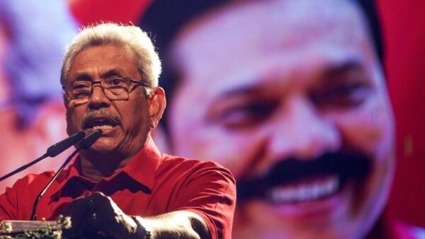 Gotabhaya Rajapakse (notre photo) a obtenu «entre 53 et 54%» des voix, annonce son parti.