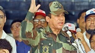 លោក Manuel Antonio Noriega រូបថតថ្ងៃទី២០ឧសភា ឆ្នាំ១៩៨៨