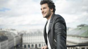 Французский певец Амир (Хаддад)