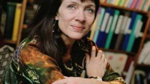 Portrait de la romancière franco-canadienne Nancy Huston.