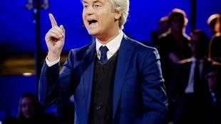 Dân biểu Hà Lan Geert Wilders. Ảnh ngày 14/03/2017 tại La Haye.