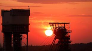 Mina de carvão ainda ativa em Katowice, na Polônia, cidade-sede da COP24.