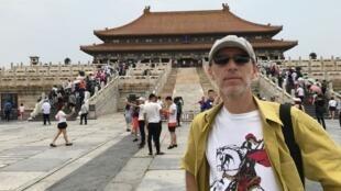 O diretor e roteirista brasileiro Marcos Jorge ficou encantado com a China.