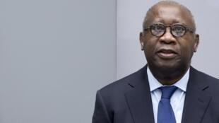 Cựu tổng thống Côte d'Ivoire Laurent Gbagbo (P) trình diện toà án La Haye. Ảnh ngày  28/01/2016.