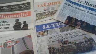 Primeiras páginas dos jornais franceses 08 de outubro de 2019