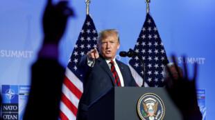 На саммите НАТО Дональд Трамп выступил срезкими заявлениями вотношении своих европейских партнеров