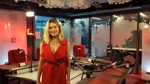 A atriz Letícia Spiller