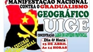 convocação para marcha a 13 Abril 2019 contra gradualismo georgráfico nas eleições autárquicas de 2020