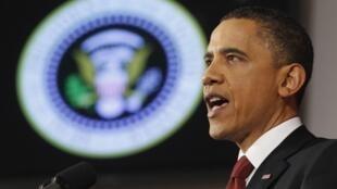 Barack Obama tentou explicar a participação dos Estados Unidos na operação militar na Líbia.