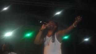 O angolano C4 Pedro foi o grande destaque na hora da despedida do Festival da Baía das Gatas.