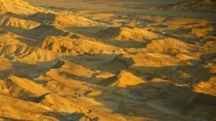 Massifs du désert du Sinaï.